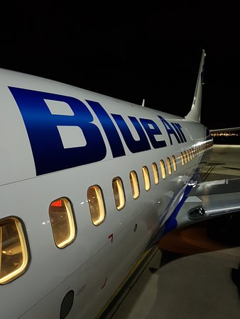 Blue Air: outside of the aircraft