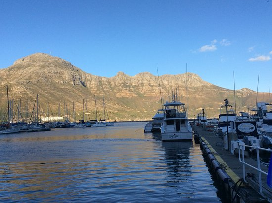 The Lookout Deck Hout Bay Restaurant, Bar & Sushi: Sportsfishemen