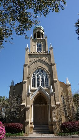 Mickve Israel Temple: It may not look like a synagogue, but it is. Look for side entrance and check hours of visit