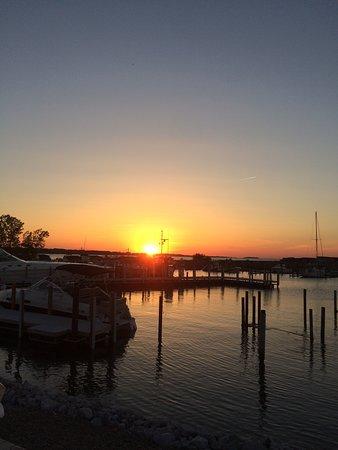 Lakeside, Огайо: Sunset on Lake Erie