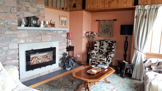 Inverkeilor, UK: Lounge Balnabrachan Lodge