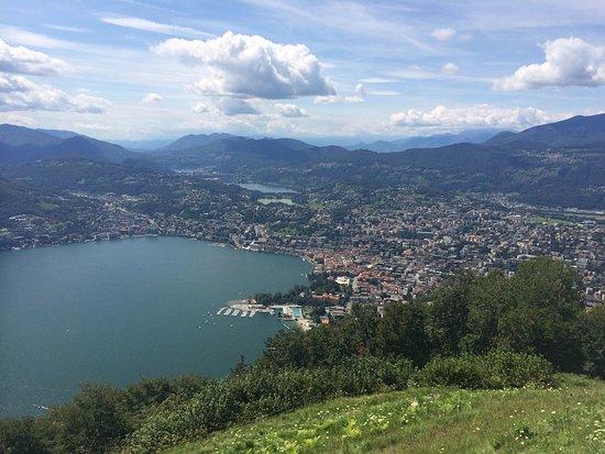 Monte Bre: Vista su Lugano