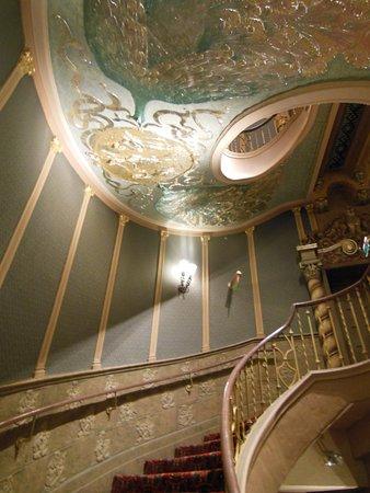 Orpheum Theater: Peacock Spiral Stairway
