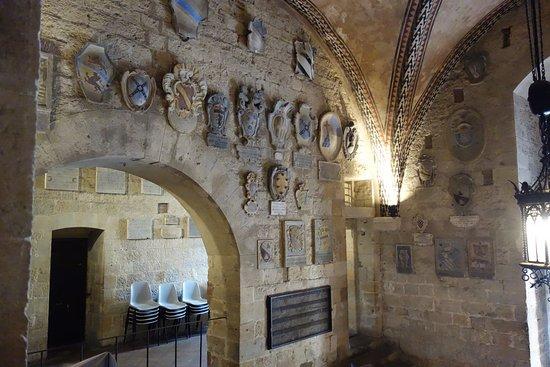 Volterra, Italien: a Palazzo