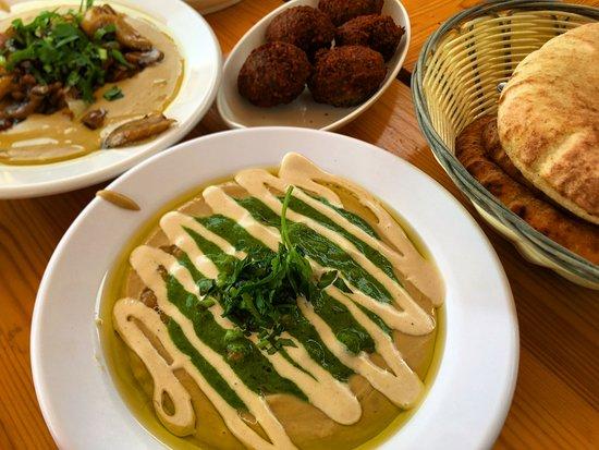 سديروت, إسرائيل: Yummy hummus!