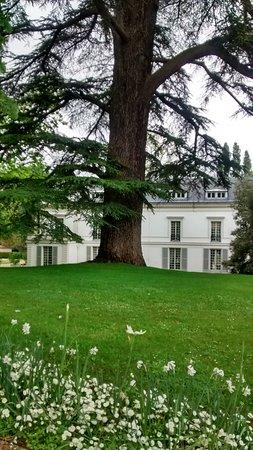 Yerres, Frankreich: parc et vue sur la demeure