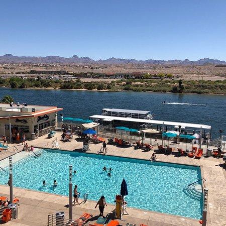 Aquarius Pool Picture Of Aquarius Casino Resort Bw