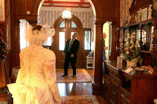 Fairbanks House: surprise... his responses