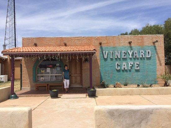 The Vineyard Cafe Sonoita : Entrance to restaurant