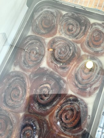Chester, Калифорния: Cinnamon rolls