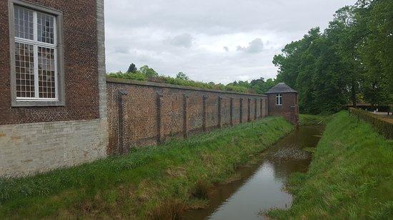 Tongerlo, Belgium: look for the runes on the wall