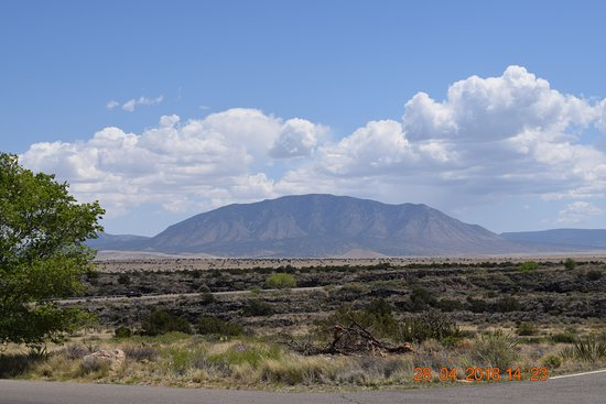 Valley of Fires Recreation Area: the view is spectacular