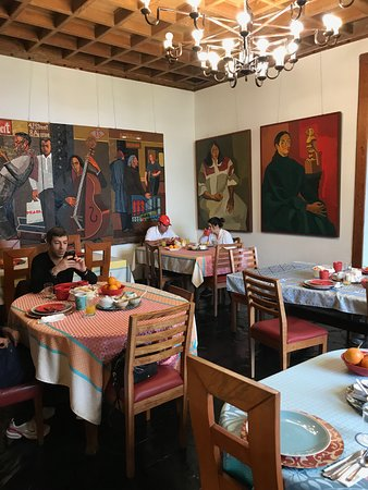 Second Home Peru: some of the art in the dining room