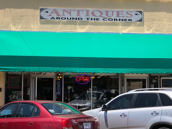 Antiques Around the Corner