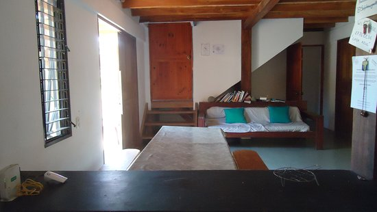 Pavones, Costa Rica: shared living area
