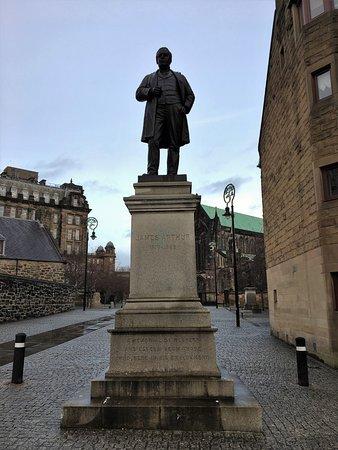 James Arthur Statue