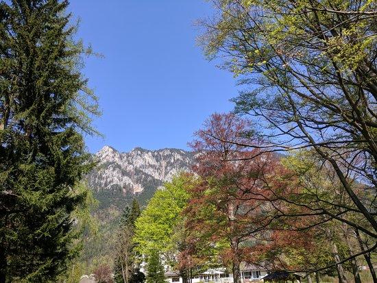 Reichenau an der Rax, Østerrike: The private park of the hotel