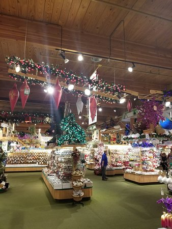 Bronner's Christmas Wonderland: Christmas all year round!