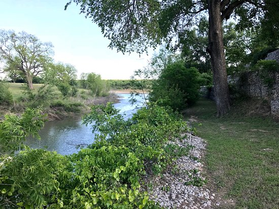 Marble Falls, TX: View of the creek