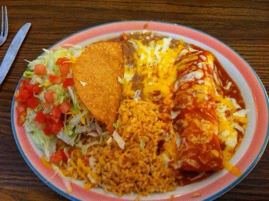 Milpitas, CA: #8 Taco,enchilada,rice and beans