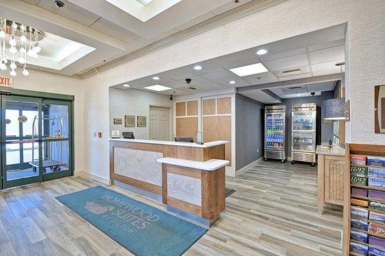 Homewood Suites by Hilton Boston-Peabody: Lobby