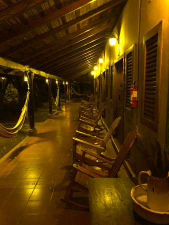 Finca San Juan de la Isla: Hammocks and rocking chairs are everywhere