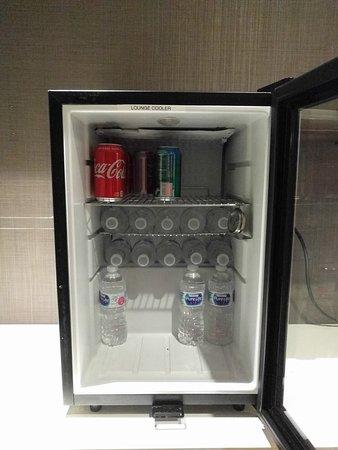 Executive lounge beverage selection