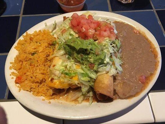 Woodhaven, MI: Beef Chimichangas Meal