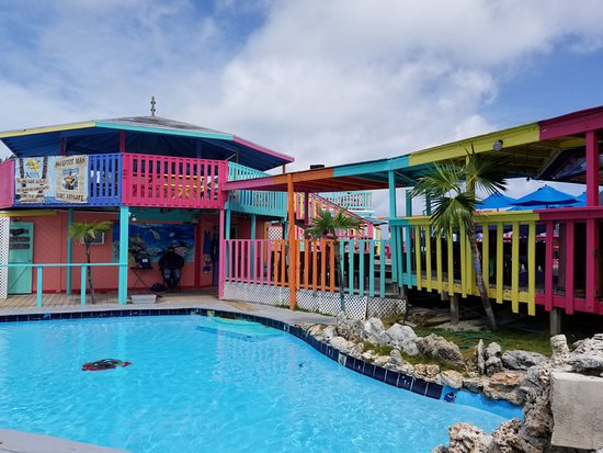 Great Guana Cay: Nipper's pool