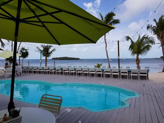 Great Guana Cay: Grabber's pool