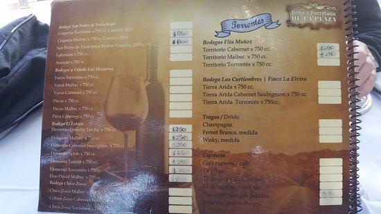De la Plaza Pena y restaurante: De La Plaza