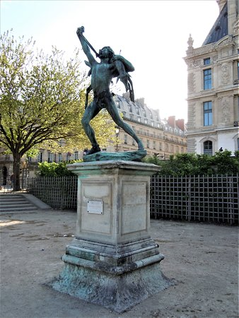 Statue Retour de Chasse