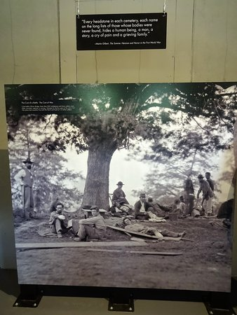 Rivers Bridge State Historic Site: extraordinarily clear (and haunting) civil war image in the memorial museum