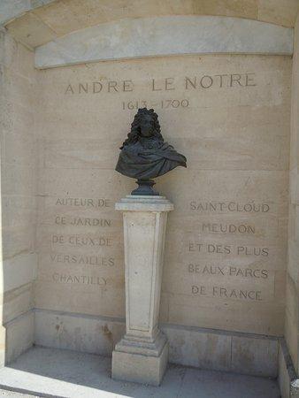 Buste de Le Notre