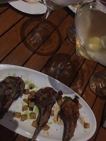 Watertable : Lamb chops and a dirty martini