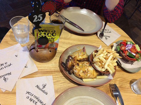 Nando's New Zealand: chicken piri-piri