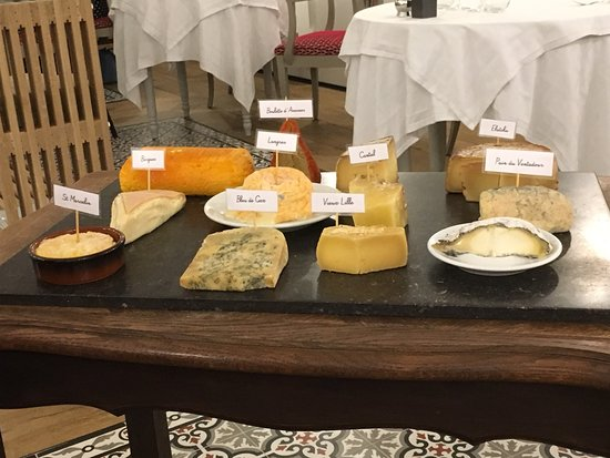 Dury, France: plateau de fromages