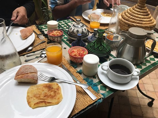 Riad Abaca Badra: Breakfast
