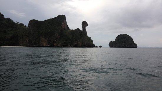 Krabi Province, Thailand: Chicken Island from boat