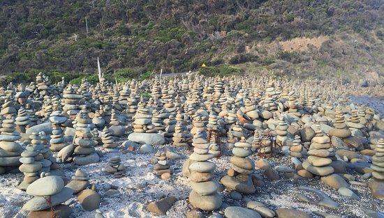 """Wongarra, Australia: Vue sur les """"monuments"""" !"""