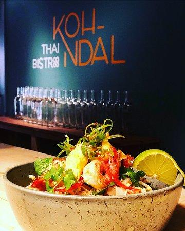 KOH-NDAL Thai Bistro: Uno de nuestros Noodles