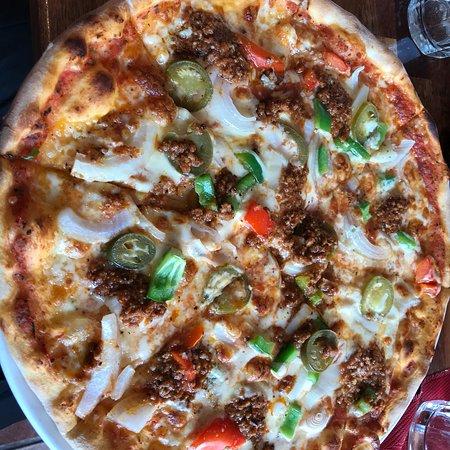 Arjang, Sverige: Min pizza.