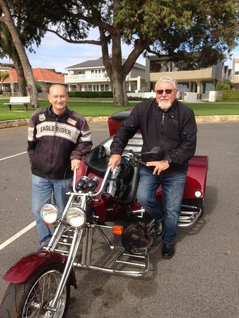 Darlington, Australia: My husband and Pete
