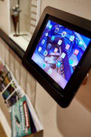Hotel Royal Gothenburg: iPads i Lobbyn