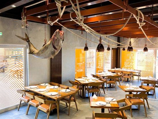 рыбный ресторан дубай марина