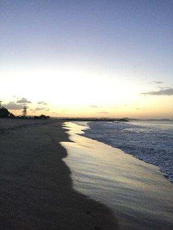 Coolangatta, Австралия: Magnificent sunset view