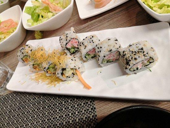 Ottimo pranzo di sushi