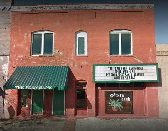 Douglas, GA: Street view of The Fern Bank