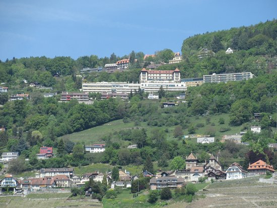Mont Pelerin, สวิตเซอร์แลนด์: photo prise depuis Vevey