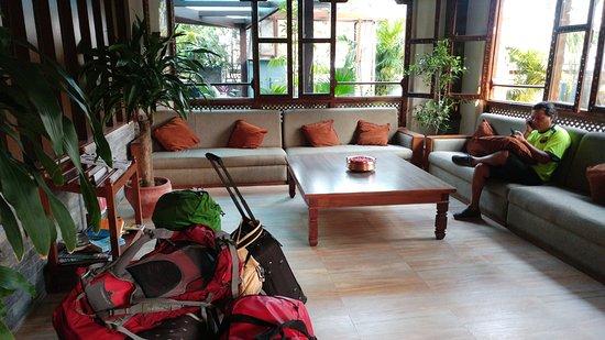 Mount View Pokhara: lobby